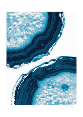 Blue Agate #1 #gem #decor #art