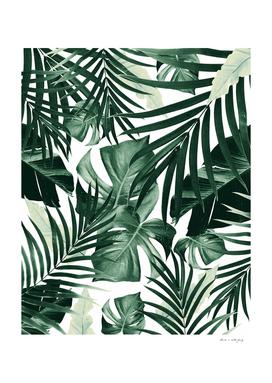 Tropical Jungle Leaves Pattern #4 #tropical #decor #art