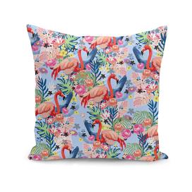 Flamingo Land Blue