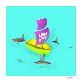 CIRCLING SHARKS01