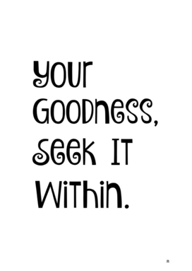 Goodness Within
