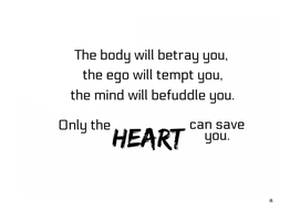 Only The Heart