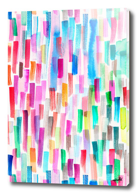 Colorful Brushstrokes