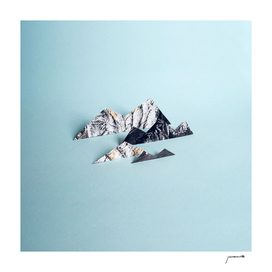 Paper mountains