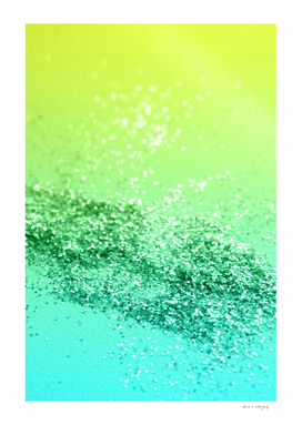 Tropical Beach Lady Glitter #3 #shiny #decor #art