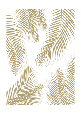 Palm Leaves - Gold Cali Vibes #3 #tropical #decor #art