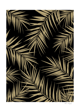 Palm Leaves Cali Finesse #1 #gold #tropical #decor #art