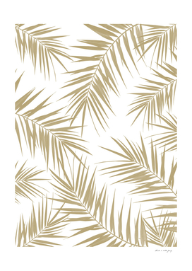 Palm Leaves Cali Finesse #2 #gold #tropical #decor #art