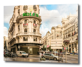 Gran Via Street, Madrid, Spain11