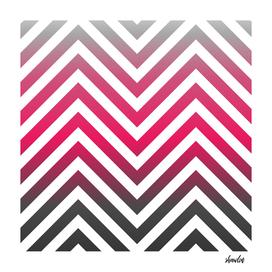 Zig zag pattern in hot pink