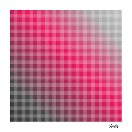 Chequered hot pink art