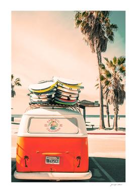 California Surf Mini Van