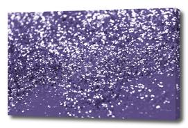 Sparkling ULTRA VIOLET Lady Glitter #1 #shiny #decor #art