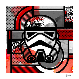 Orderly Vandalized: Stormtrooper