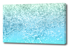 Seafoam Aqua Ocean MERMAID Girls Glitter #1 #shiny #decor