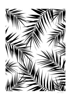Palm Leaves Cali Finesse #3 #BlackWhite #tropical #decor