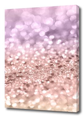 Rose Gold Blush Purple MERMAID Girls Glitter #1 #shiny