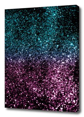 Tropical Summer Night Lady Glitter #1 #shiny #decor #art