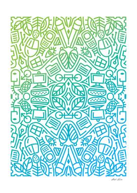 Decorative Pattern Curioos 3
