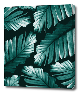 Tropical Banana Leaves Dream #2 #foliage #decor #art
