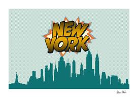New York Pop Skyline