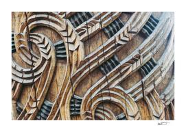 A Maori Carving