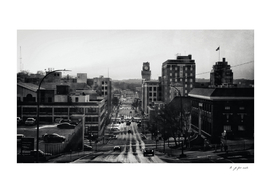 Sioux City in Black & White