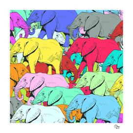 Elephants Parade