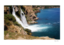 Turkish waterfall Duden