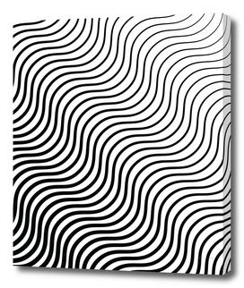 Whisker Pattern - Black #399