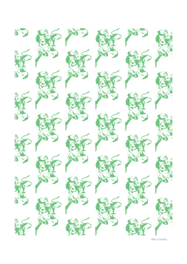Follow the Herd - All Over Green #637