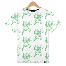 Follow the Herd Pattern - Green #637