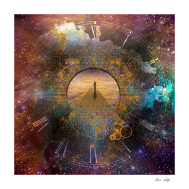 The Way to Eternity - Spiritual Surreal Art