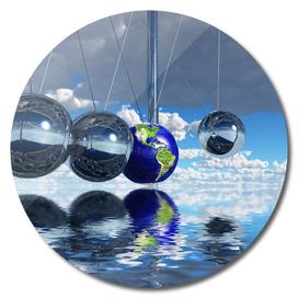 Bounce - Newton's pendulum