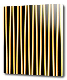 Between the Trees - Black, Orange & Yellow #557