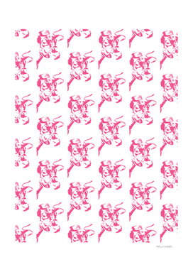 Follow the Herd - All Over Pink #646