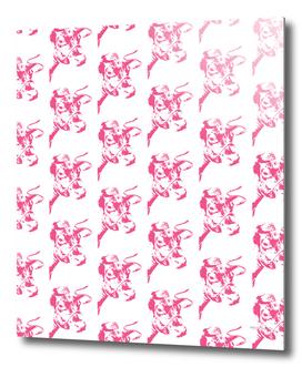 Follow the Herd Pattern - Pink #646