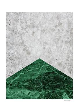 Concrete Arrow - Green Granite #412