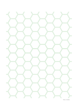 Honeycomb - Mint Green #192