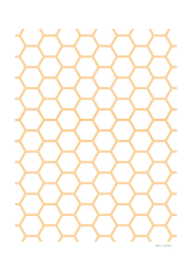 Honeycomb - Orange #271