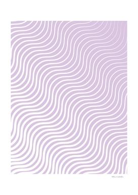 Whisker Pattern - Light Purple & White #713