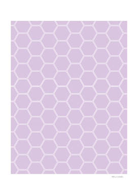 Honeycomb - Light Purple #288
