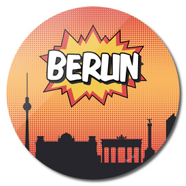 Berlin Pop Skyline