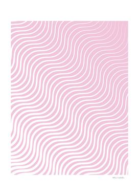 Whisker Pattern - Light Pink & White #308