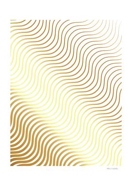 Whisker Pattern - Gold #634
