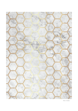 Honeycomb - Marble Gold #767