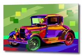 Ford model A - color anomaly