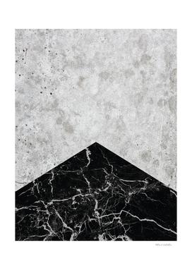 Concrete Arrow - Black Granite #844