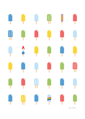 Popsicle - Bright Random #609