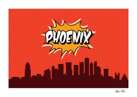 Phoenix Pop Skyline